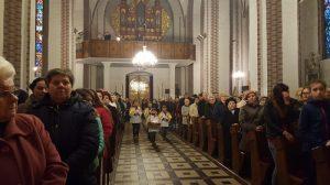 13 kwietnia 2017 Wielki czwartek w parafii p.w. św. Wawrzyńca w Słupcy